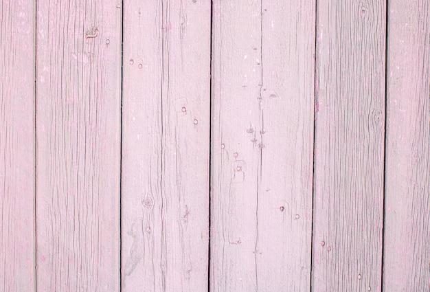 Textura de fundo de madeira placa de madeira rosa fundo vista de cima painel de prancha de madeira