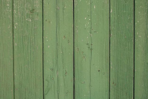 Textura de fundo de madeira verde placa de madeira vista de cima painel de prancha de madeira
