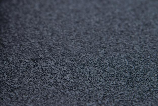 Textura de fundo de material de isolamento de betume à prova d'água, closeup
