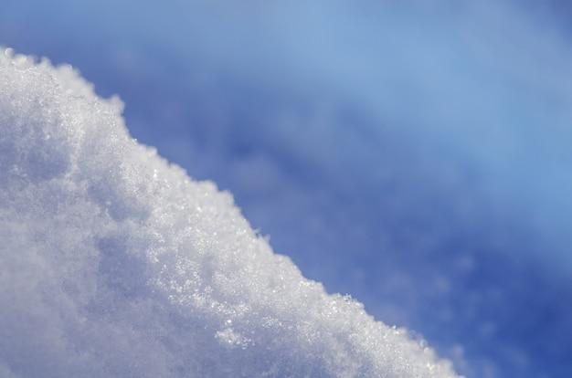 Textura de fundo de neve