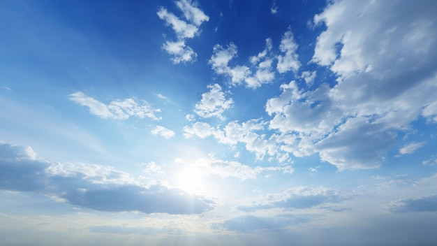 Textura de fundo de nuvens brilhantes