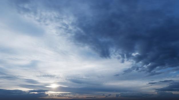 Textura de fundo de nuvens