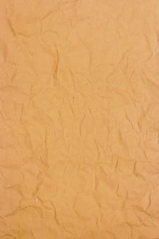 Textura de fundo de papel amassado bronw