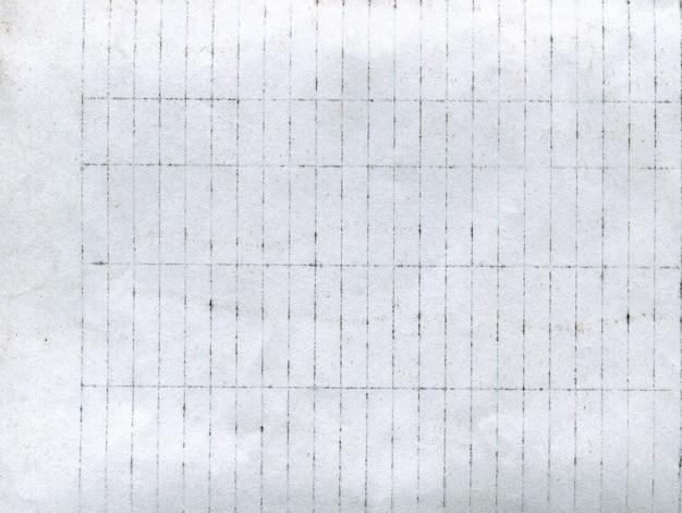 Textura de fundo de papel branco velho e surrado