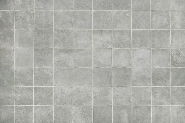 Textura de fundo de parede de azulejos cinza