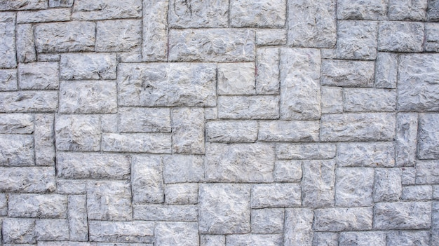 Textura de fundo de parede de pedra cinza