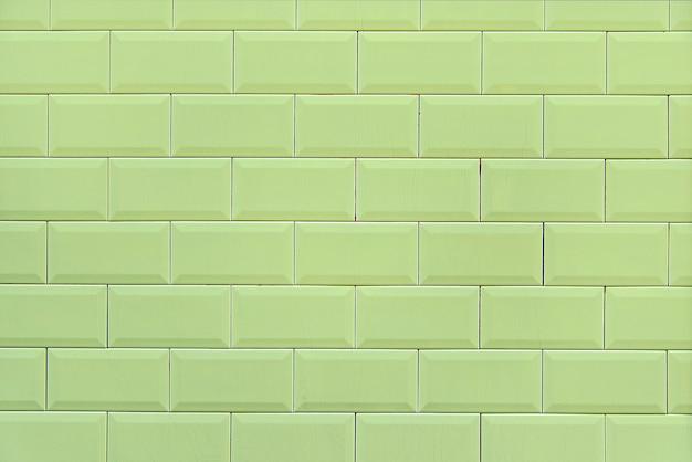 Textura de fundo de parede de tijolo verde velho