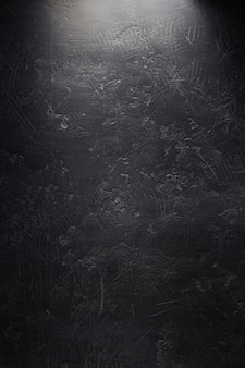 Textura de fundo de parede preto escuro