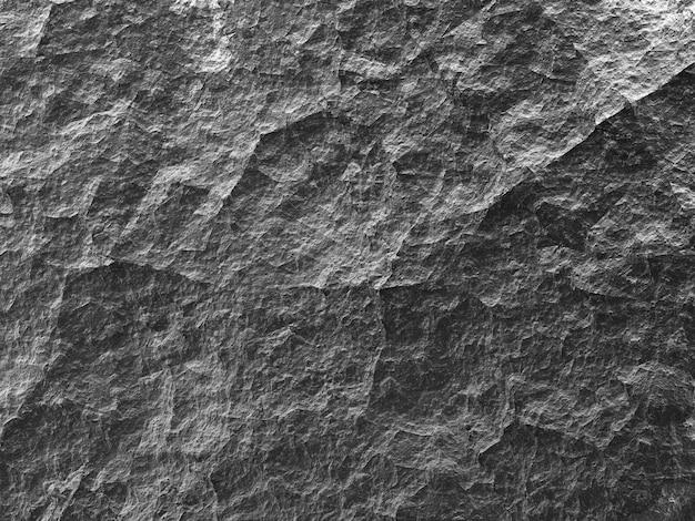 Textura de fundo de pedra cinza áspera, papel cinza amassado