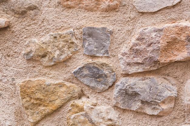 Textura de fundo de pedra da parede