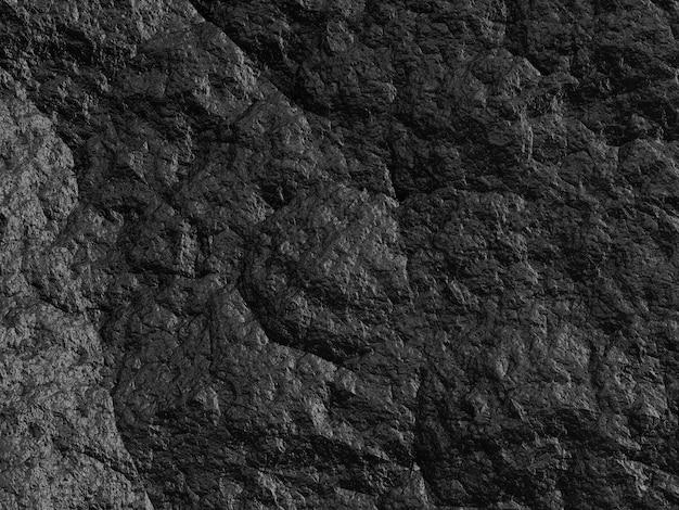 Textura de fundo de pedra preta áspera