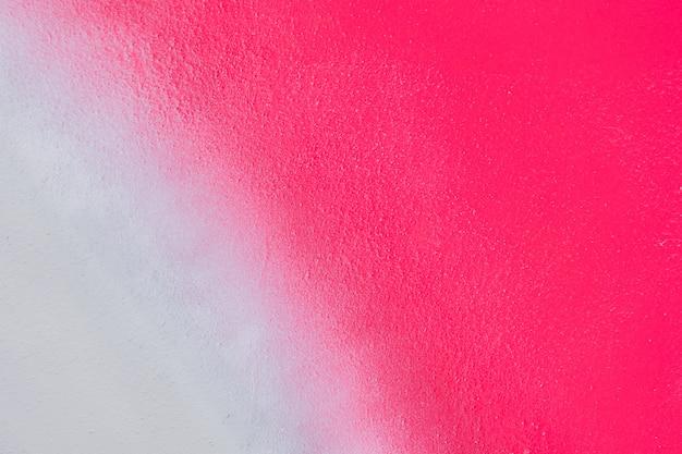 Textura de fundo de pintura vermelho e branco