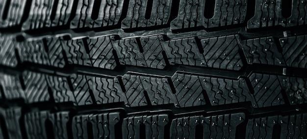 Textura de fundo de pneus de carro