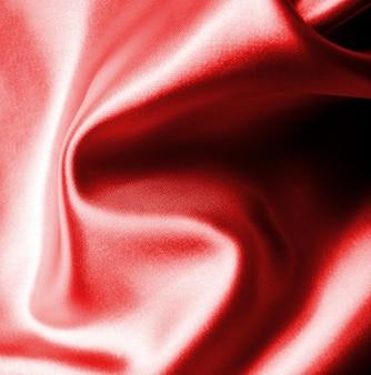 Textura de fundo de seda ondulada vermelha