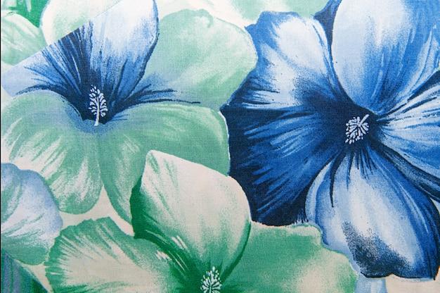 Textura de fundo de tecido padrão floral