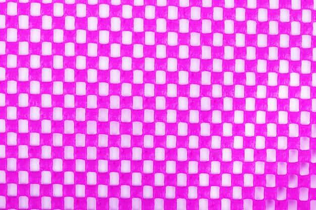 Textura de fundo de tecido rosa close-up