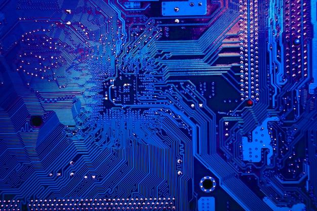 Textura de fundo de tecnologia