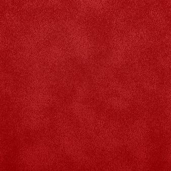 Textura de fundo grunge irregular abstrato vermelho de couro de camurça padrão de superfície de grão