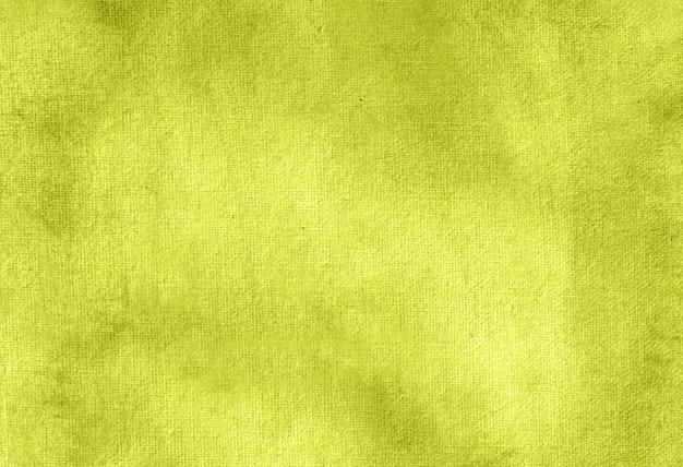 Textura de fundo pintado à mão aquarela pastel abstrato amarelo.