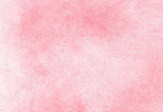 Textura de fundo pintado à mão aquarela pastel abstrato vermelho.