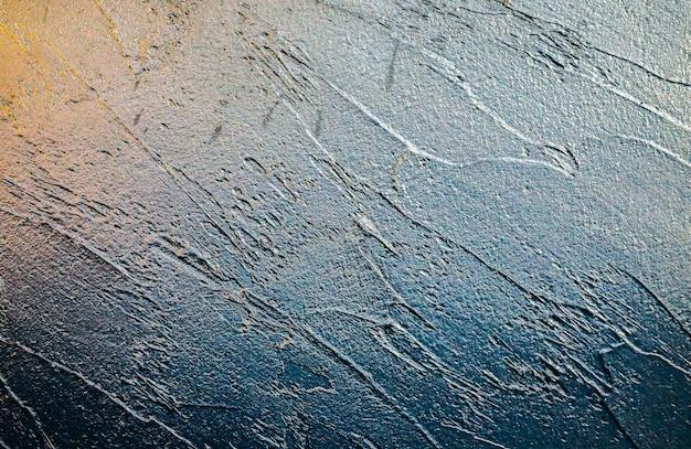 Textura de fundo preto. pinceladas amplas. pintura touche. papel de parede abstrato da lua.