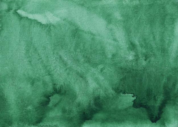 Textura de fundo verde aquarela mar escuro