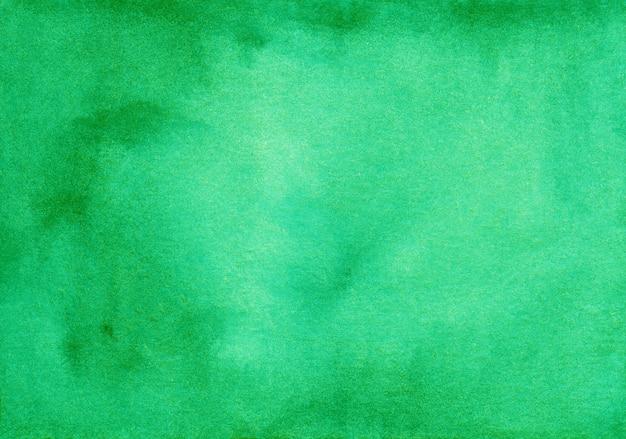 Textura de fundo verde aquarela profunda