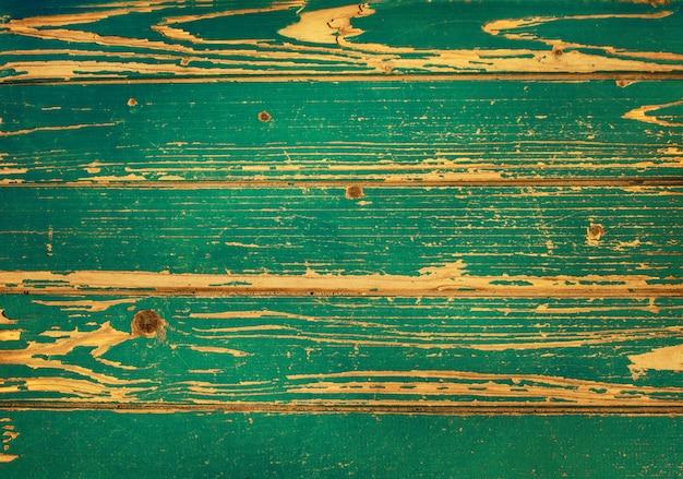 Textura de fundo verde prancha de madeira