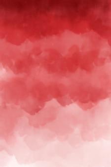Textura de fundo vermelho aquarela