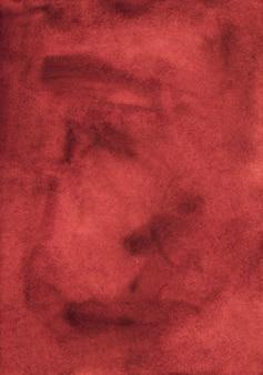 Textura de fundo vermelho elegante antigo aquarela.