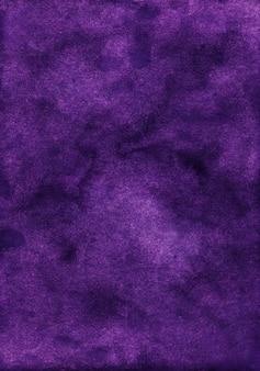 Textura de fundo violeta profundo em aquarela. aquarelle abstrato antigo pano de fundo roxo escuro.