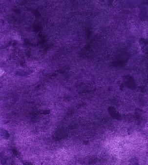Textura de fundo violeta profundo vintage em aquarela. aquarelle abstrato antigo pano de fundo roxo. pintado à mão