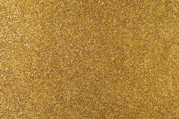 Textura de glitter dourado para plano de fundo