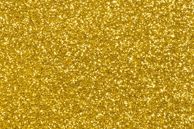 Textura de glitter dourados, luzes de brilho de férias
