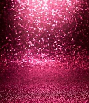 Textura de glitter rosa natal abstrato