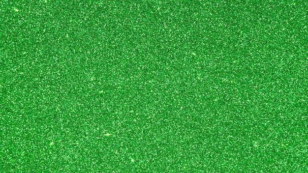 Textura de glitter verde