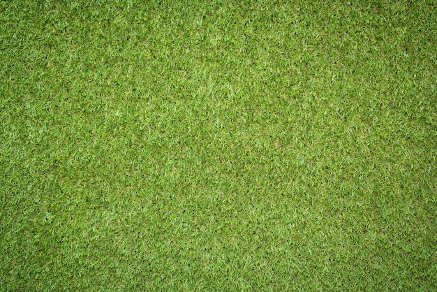 Textura de grama verde artificial de vista superior para o fundo