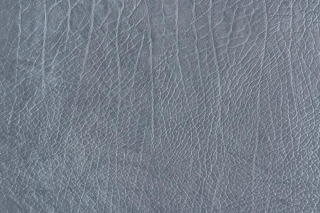 Textura de grão de couro cinza