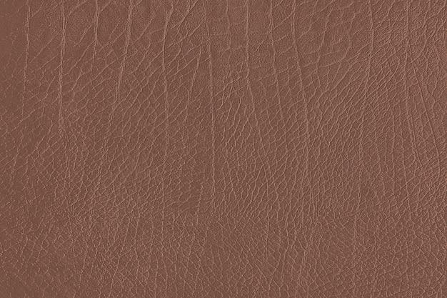 Textura de grão de couro marrom