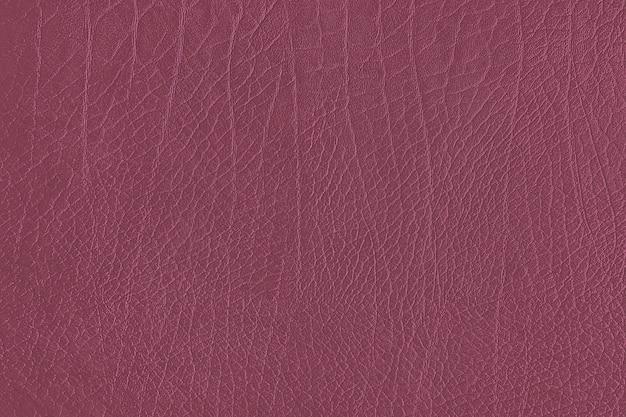 Textura de grão de couro rosa