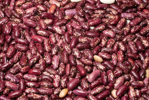 Textura de grãos de feijão. a imagem pode ser usada como fundo.