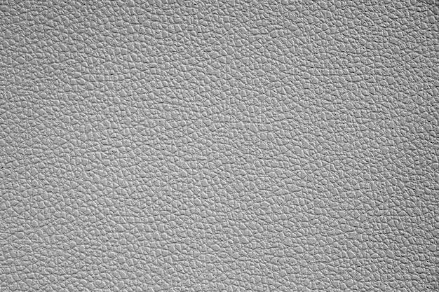 Textura de imitação de couro plástico cinza close-up