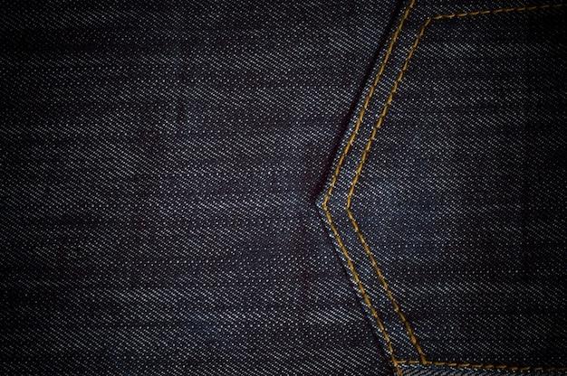 Textura de jeans azul vintage processado com snapseed