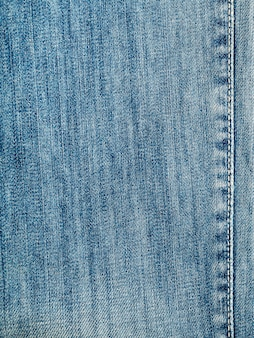 Textura de jeans jeans azul, plano de fundo