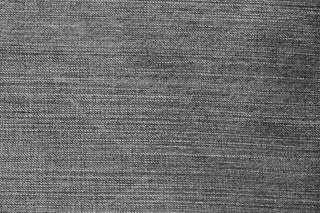 Textura de jeans preto de calça jeans.
