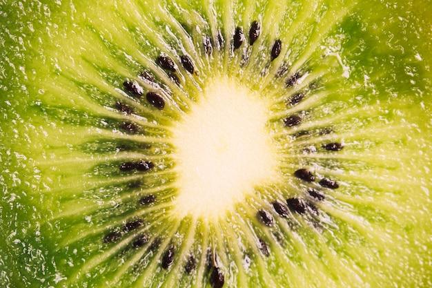 Textura de kiwi macro