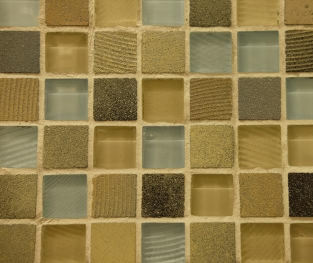 Textura de ladrilhos cerâmicos finos para banheiro