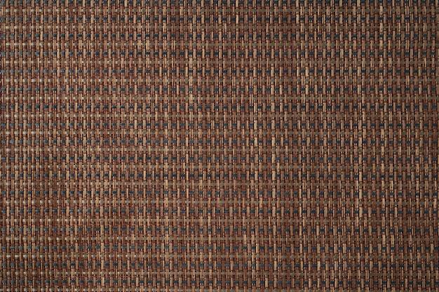 Textura de linha de bambu marrom abstrata