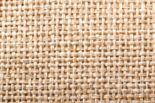 Textura de linho de tecido natural