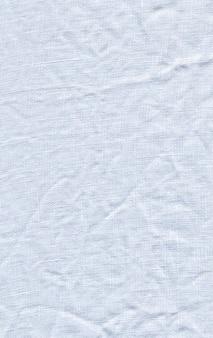 Textura de lona branca.